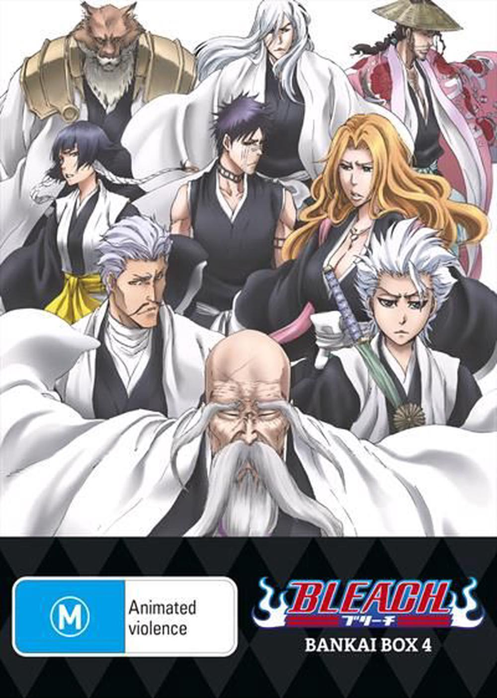 Bleach Bankai : Box 4 : Eps 304-366 : Limited Edition
