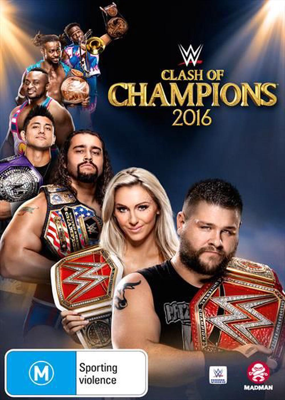 WWE - WCW - Clash Of The Champions 2016