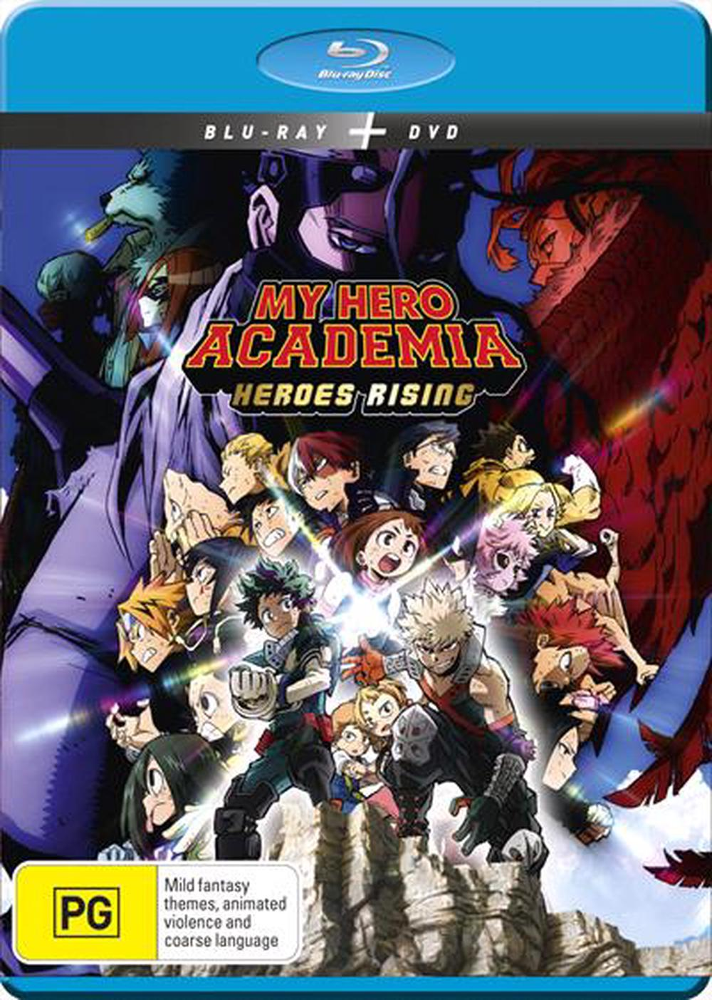 My Hero Academia The Movie - Heroes Rising | Blu-ray + DVD