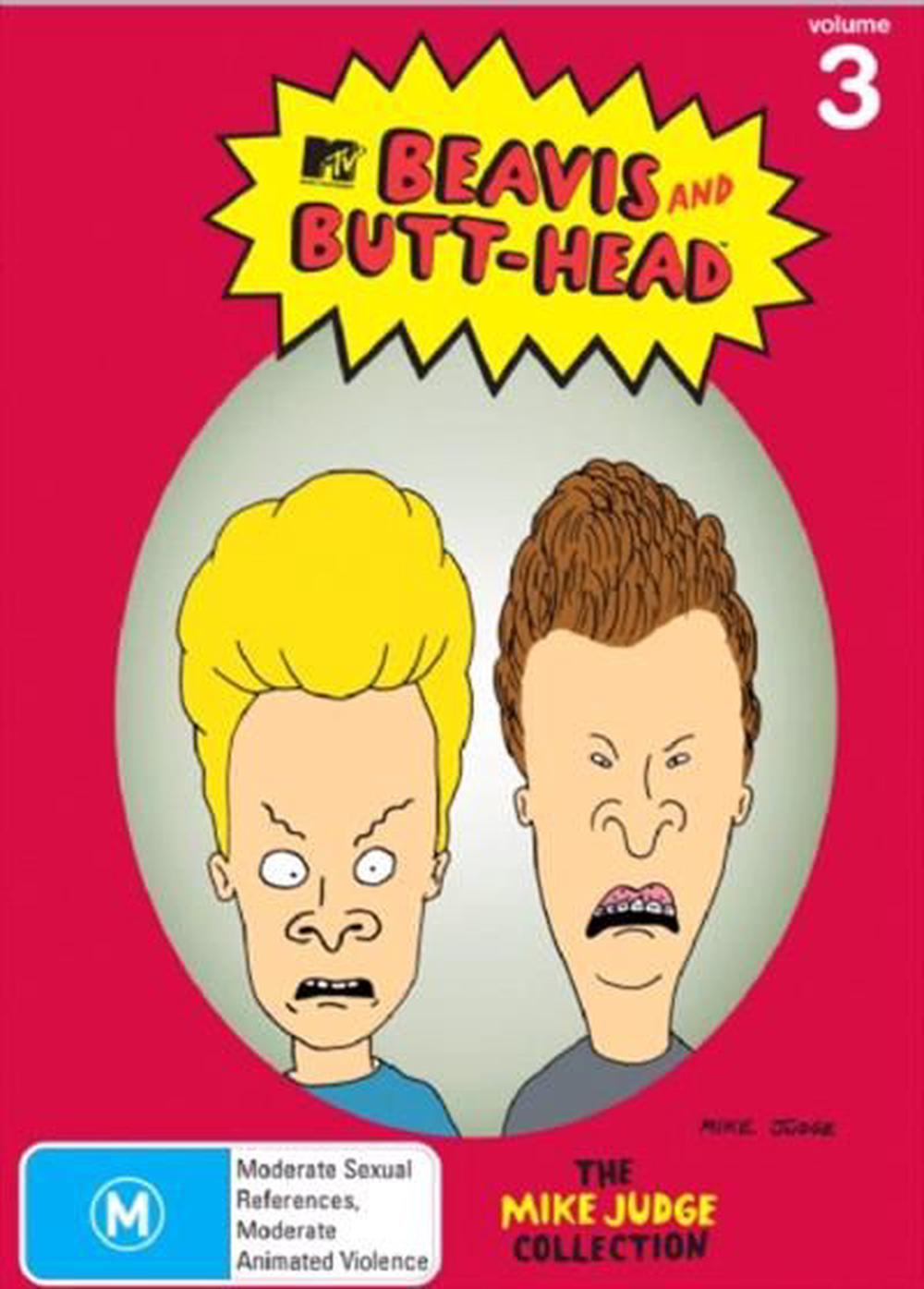 beavis and butt-head: volume 3 (the mike judge collection), dvd