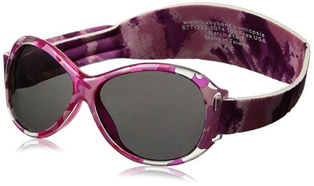 Banz Carewear Retro Kidz Banz Sunglasses (Pink Diva) - 2-5 Years