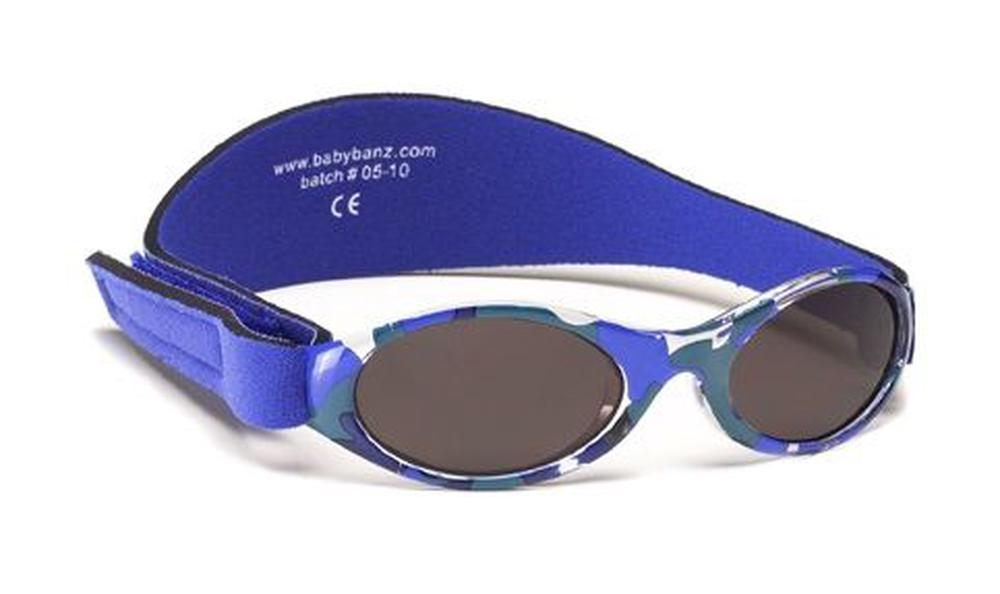 Banz Carewear Adventure Kidz Banz Sunglasses (Camo Blue) - 2-5 Years