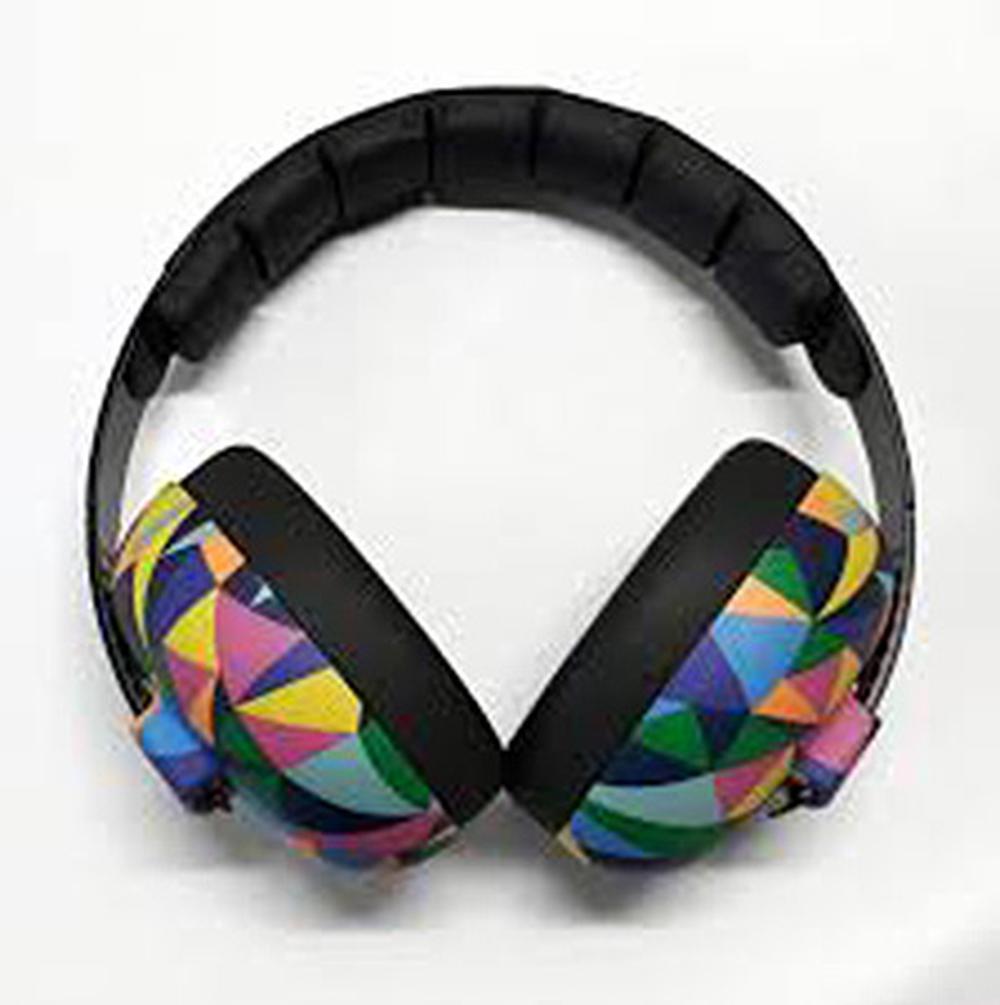 Banz Carewear Kids Ear Muffs (Kaleidoscope) - 2-10 Years