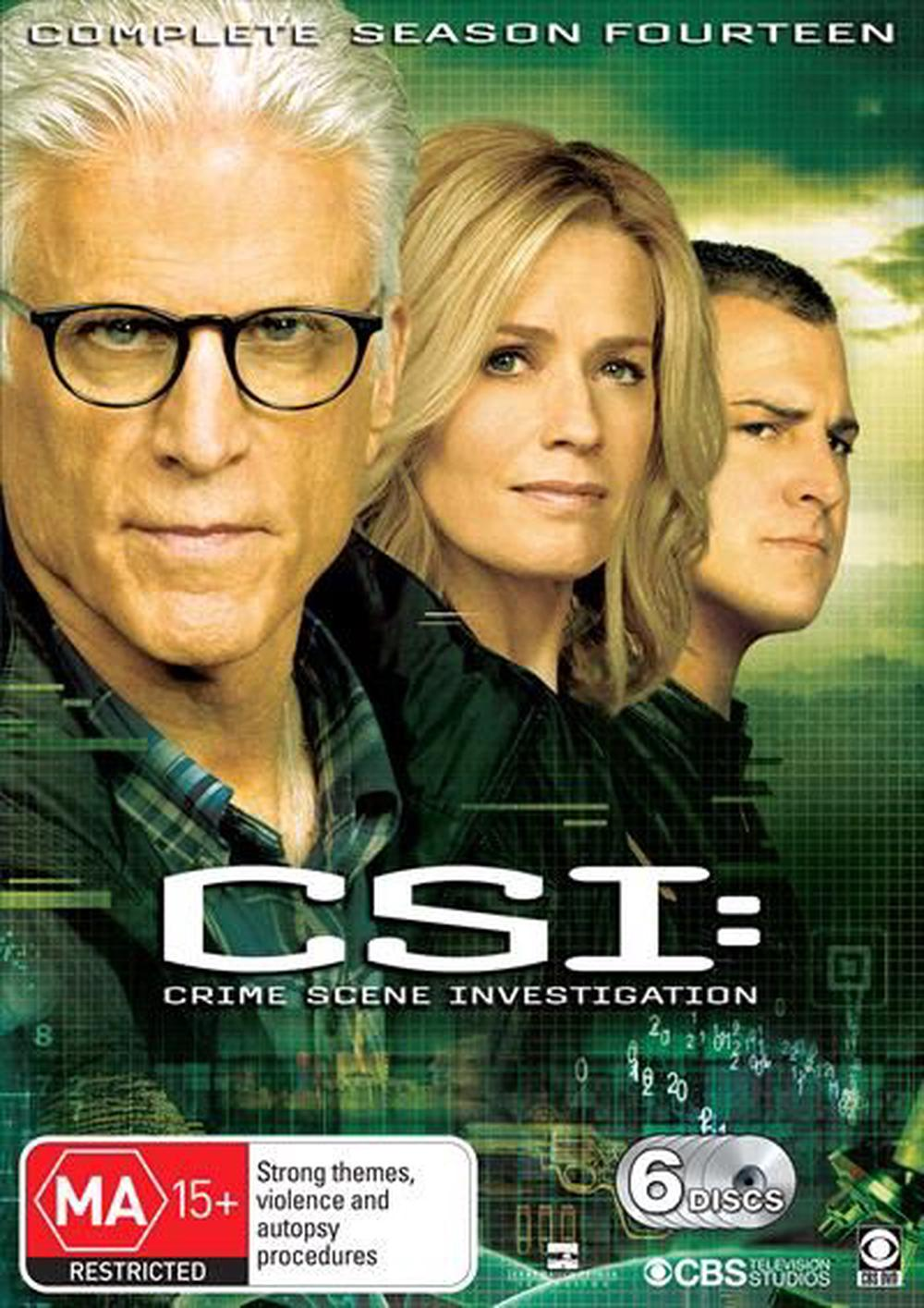CSI - Crime Scene Investigation : Series 14 | Boxset