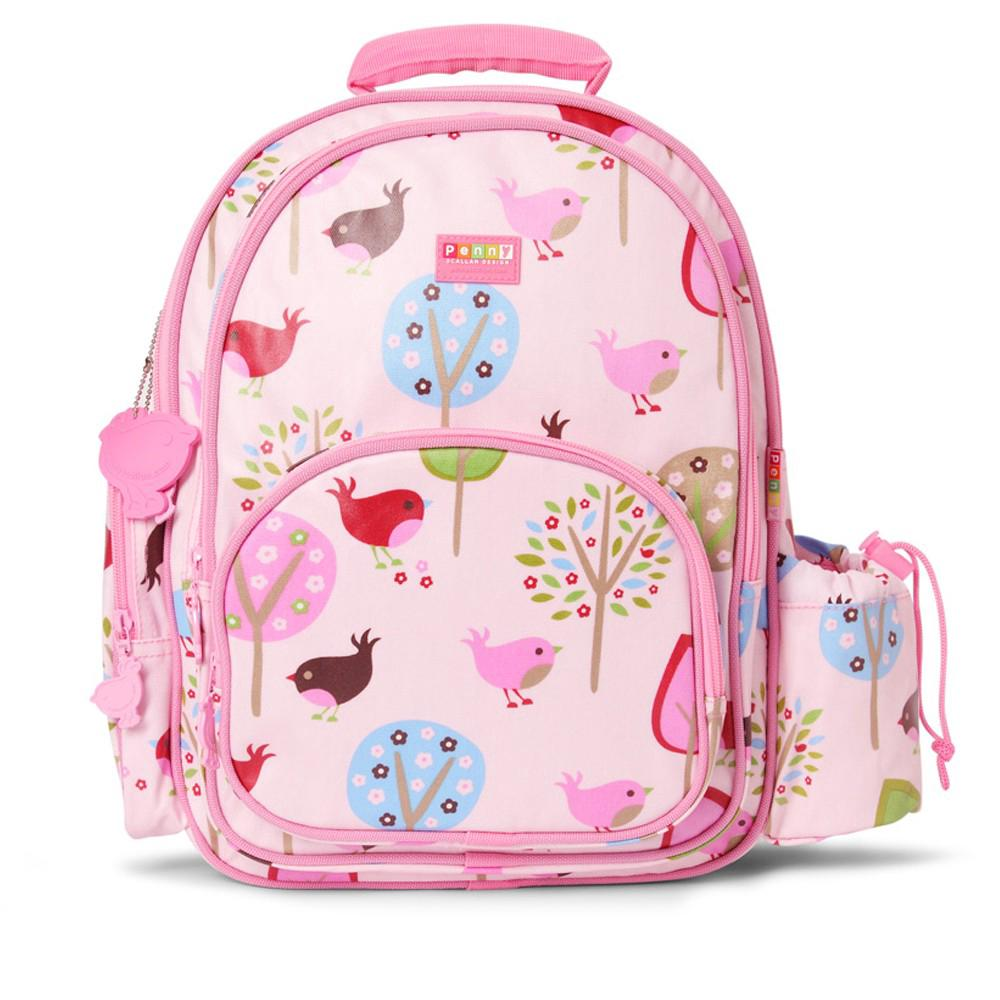 Penny Scallan Design Kids Backpack (Chirpy Bird) - Large