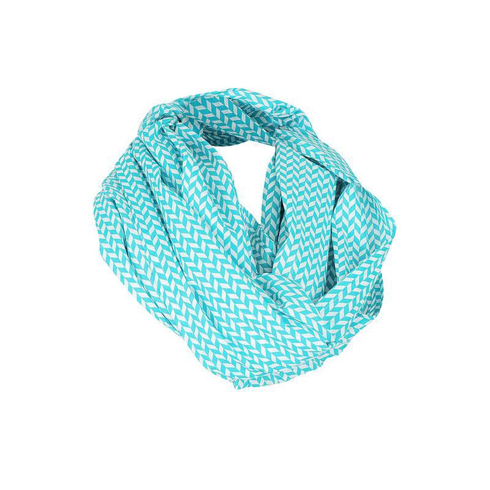 KissKiss HugHug Breast Feeding Scarf (Aztec Blue)