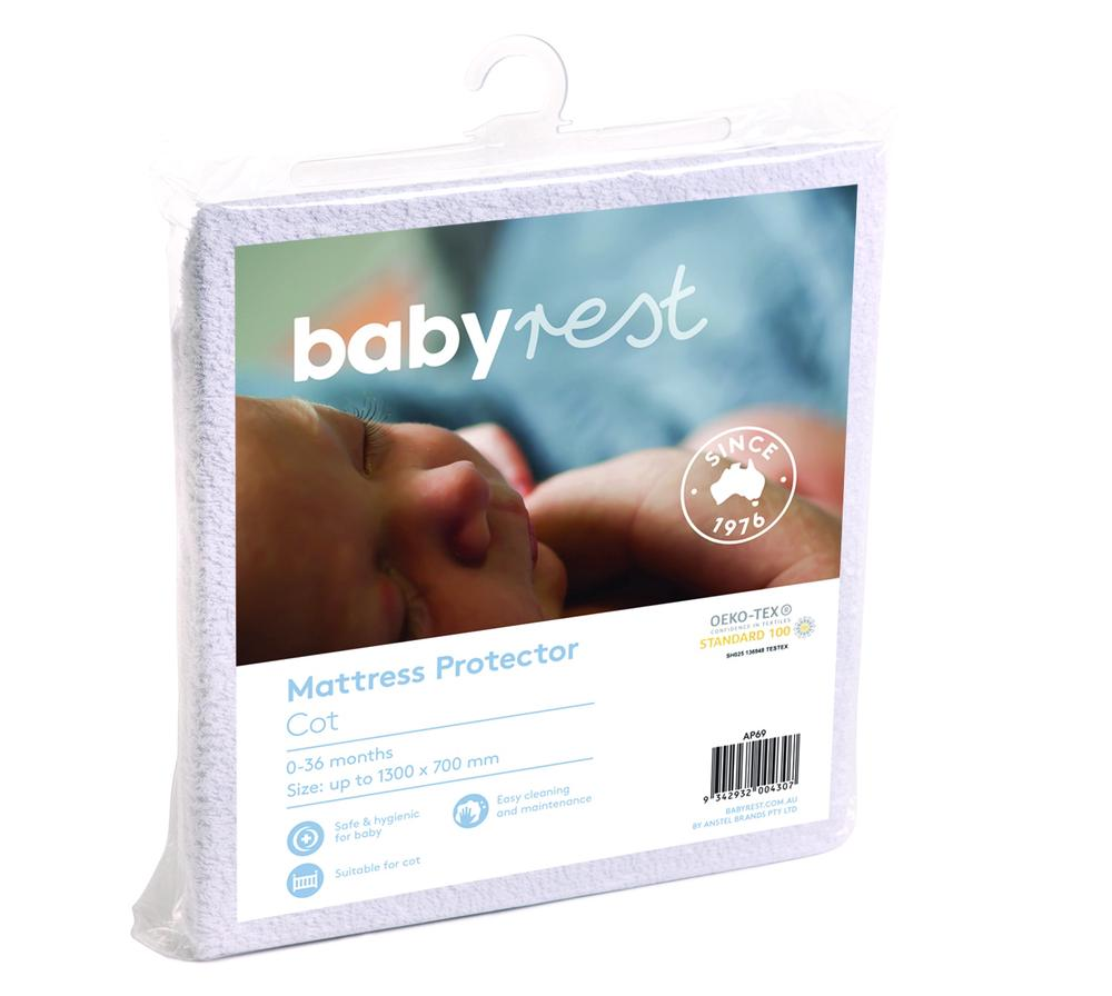 BabyRest Bassinette Mattress 800 x 410 x 50mm BabyRest Free Shipping!