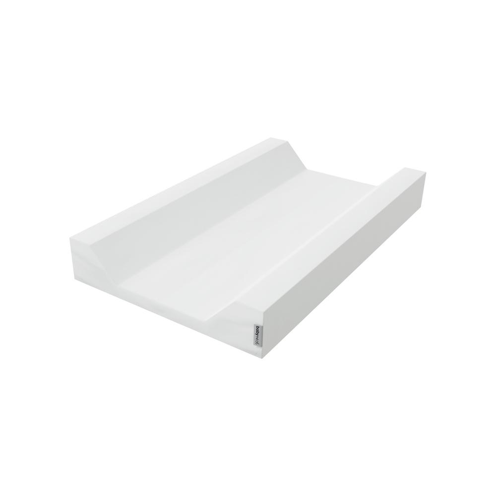 Babyrest Deluxe Change Mattress With Waterproof Cover King Parrot/Boori Urbane Tray (White) - 800 x 400 x 75mm