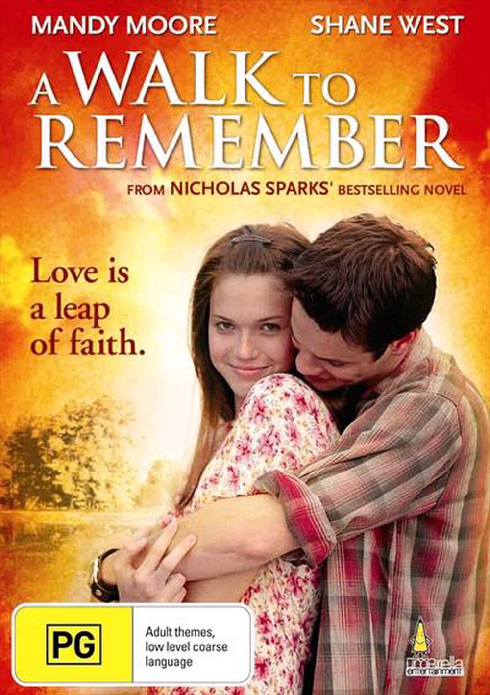A Walk To Remember Dvd Buy Online At The Nile