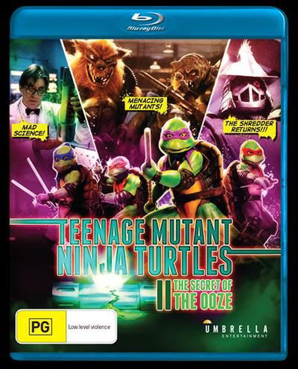 Teenage Mutant Ninja Turtles 2 Secret Of The Ooze The Blu Ray Buy Online At The Nile