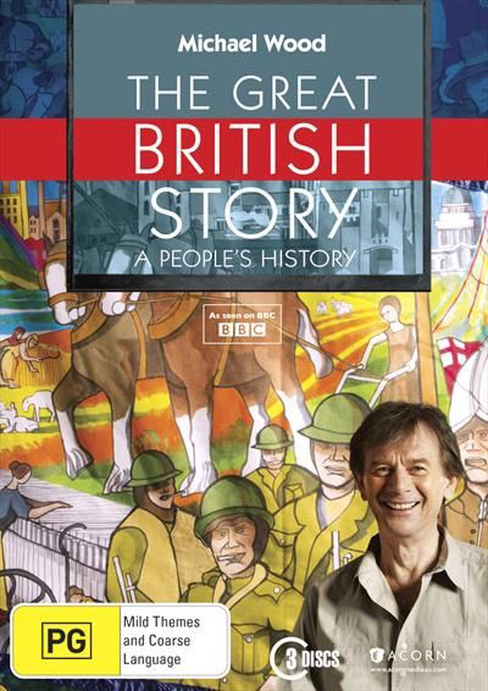 Michael Wood The Great British Story A People S History Dvd