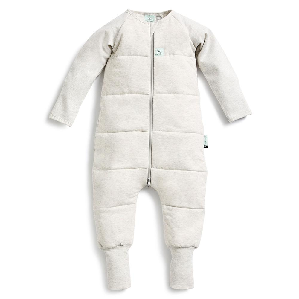 ergoPouch Sleep Onesie, 3.5 Tog (Greymarle) - 2-3 Years