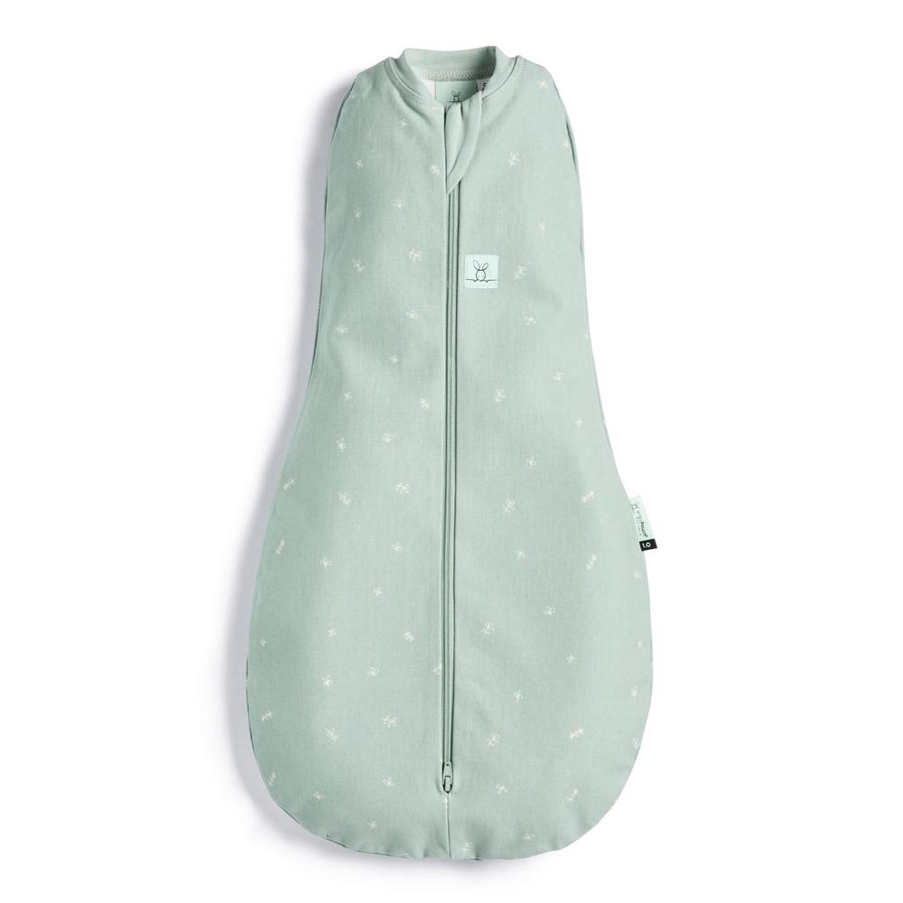 ergoPouch Cocoon Swaddle Bag, Tog 0.2 (Sage) - 3-6 Months