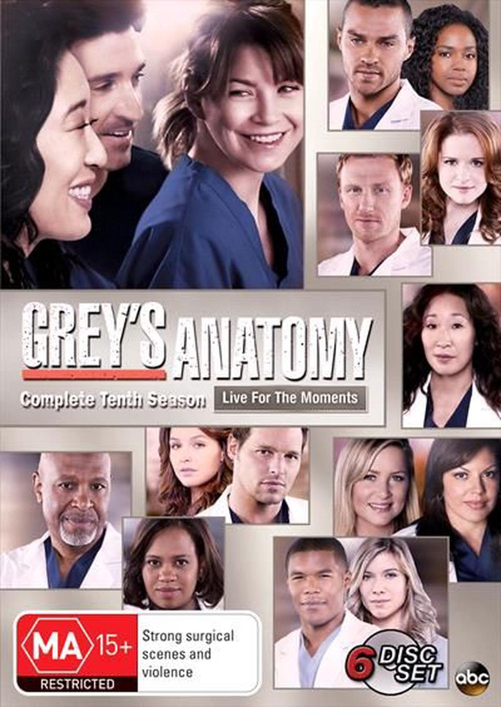 Greys Anatomy Season 10 Dvd Buy Online At The Nile