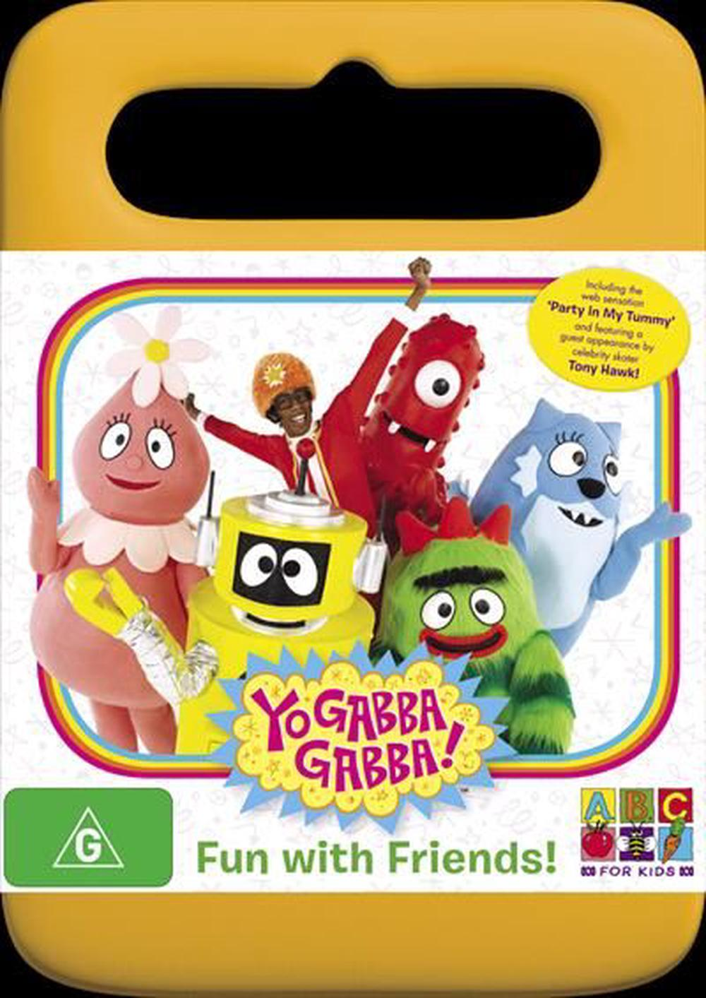 Yo Gabba Gabba Fun With Friends Dvd Buy Online At The Nile
