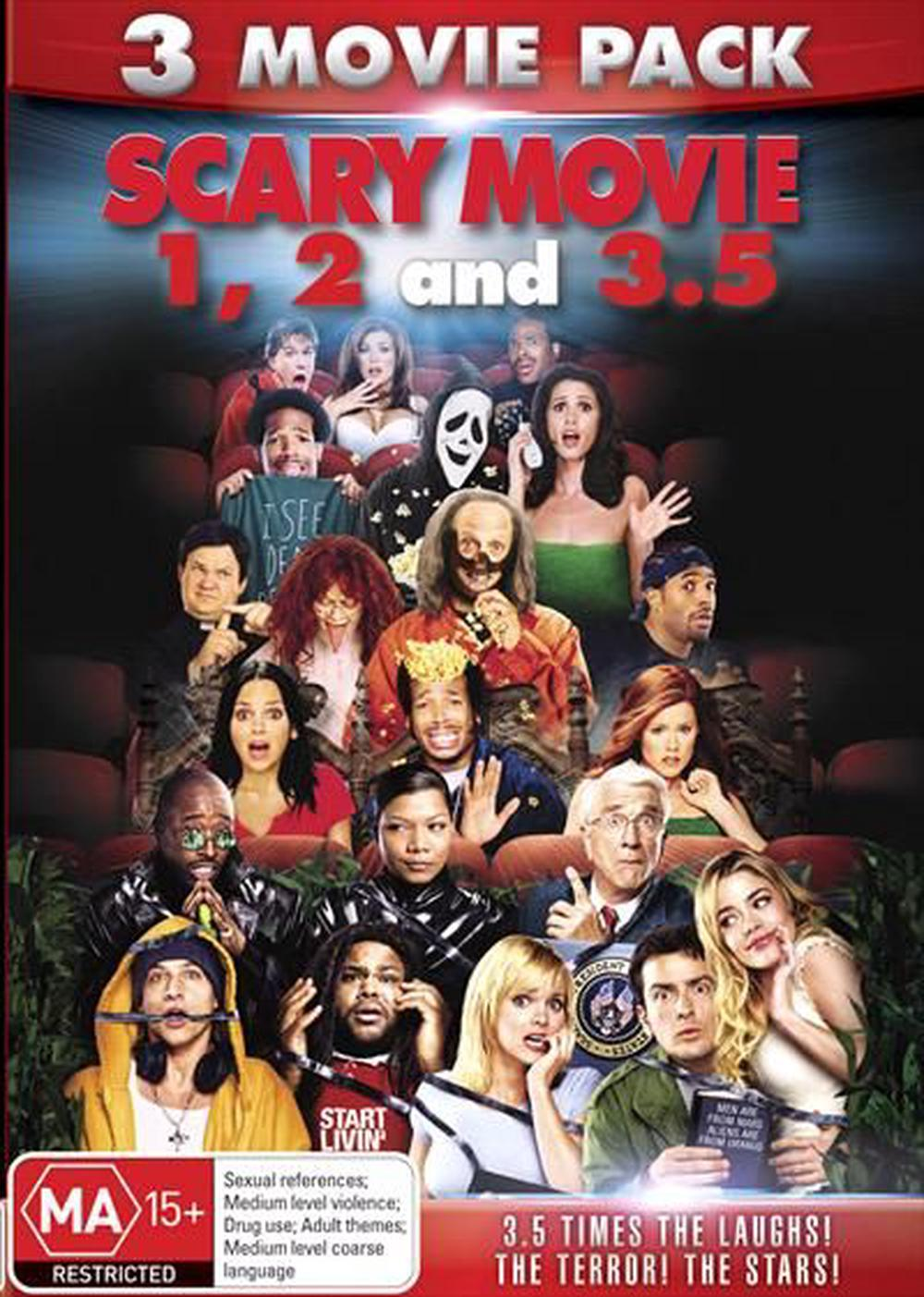 Scary Movie Triple Pack Dvd Buy Online At The Nile