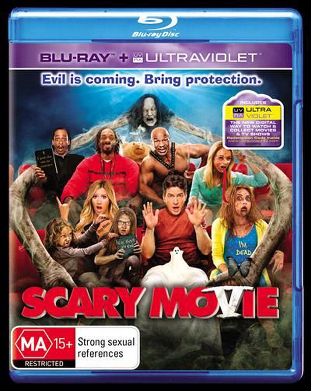 Scary Movie 5 Blu Ray Buy Online At The Nile