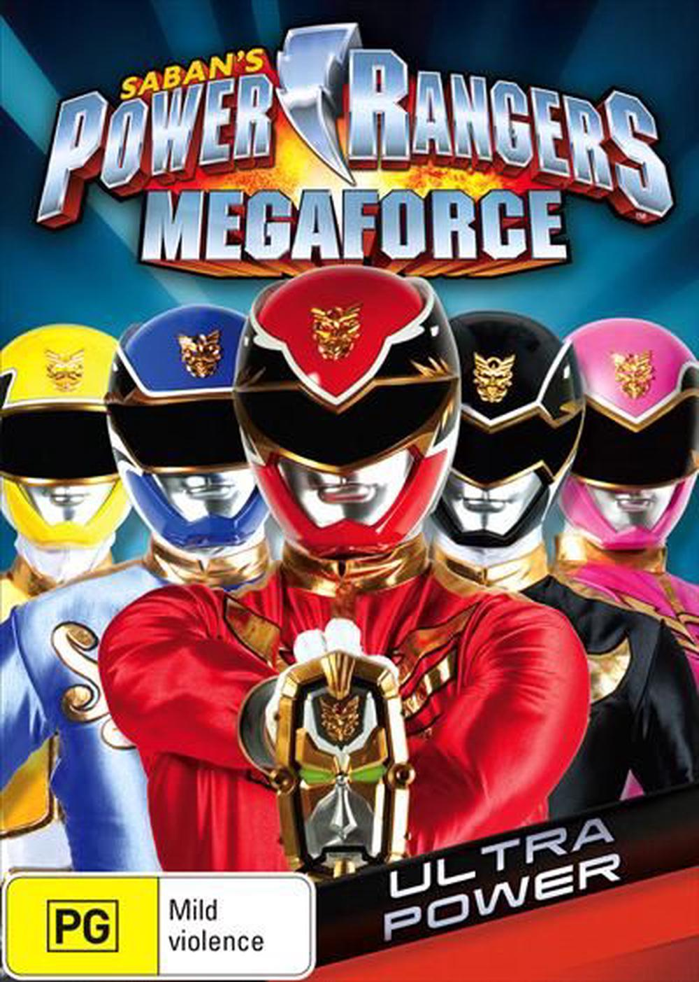Power Rangers - Megaforce : Vol 2, DVD | Buy online at The Nile