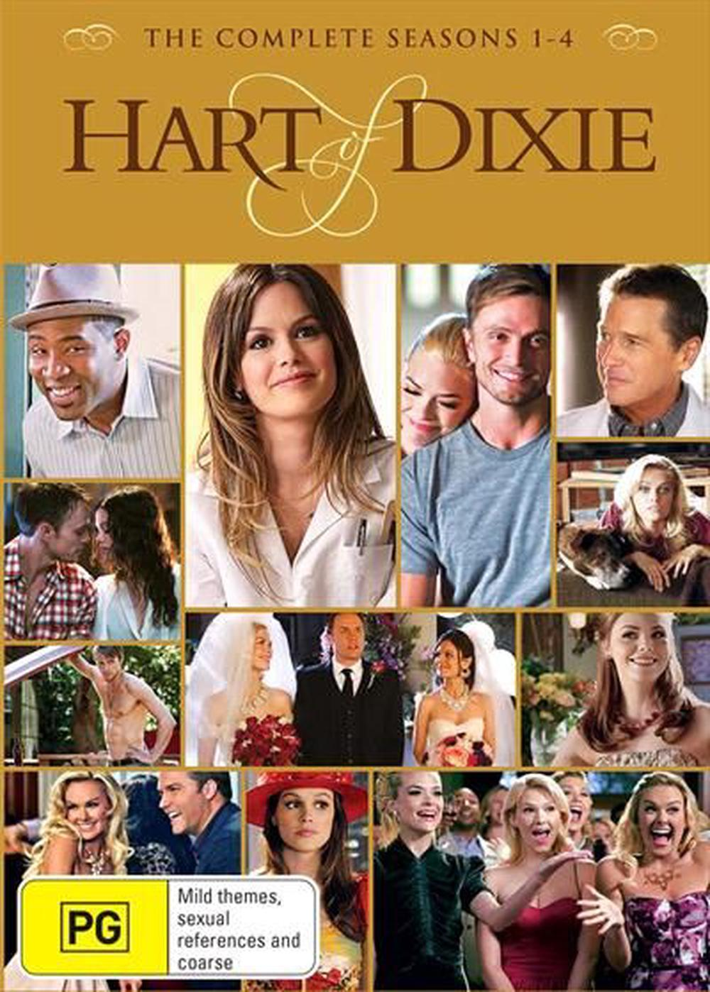 Hart Of Dixie : Season 1-4 | Boxset