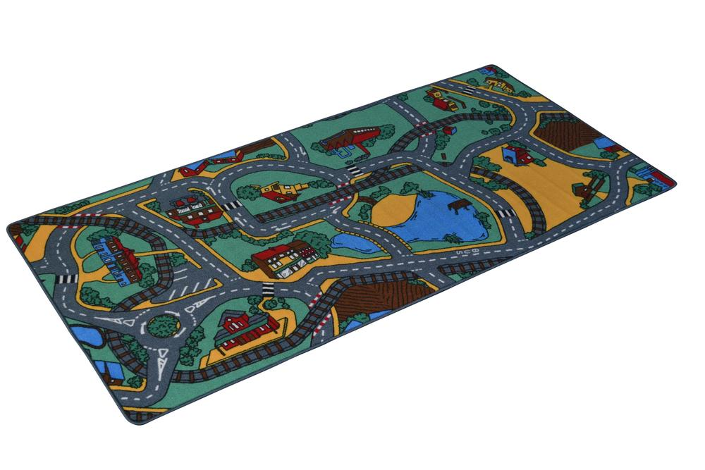 Playzone Playtex Town Road Play Mat