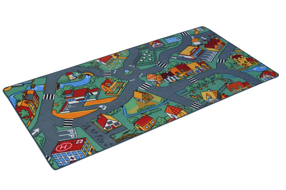 Playzone Country Town Road Play Mat