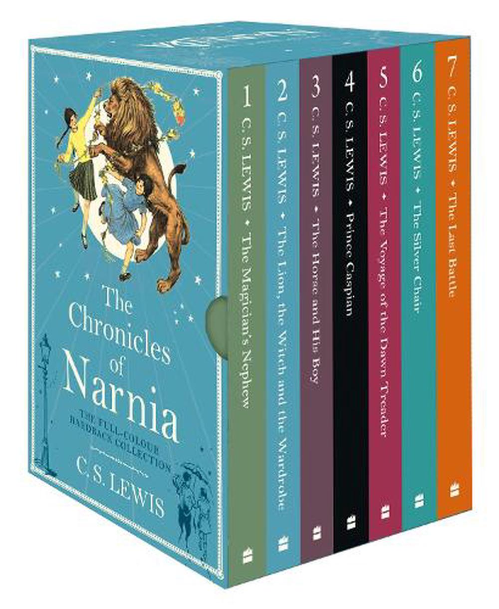 chronicles of narnia box set by c s lewis  book