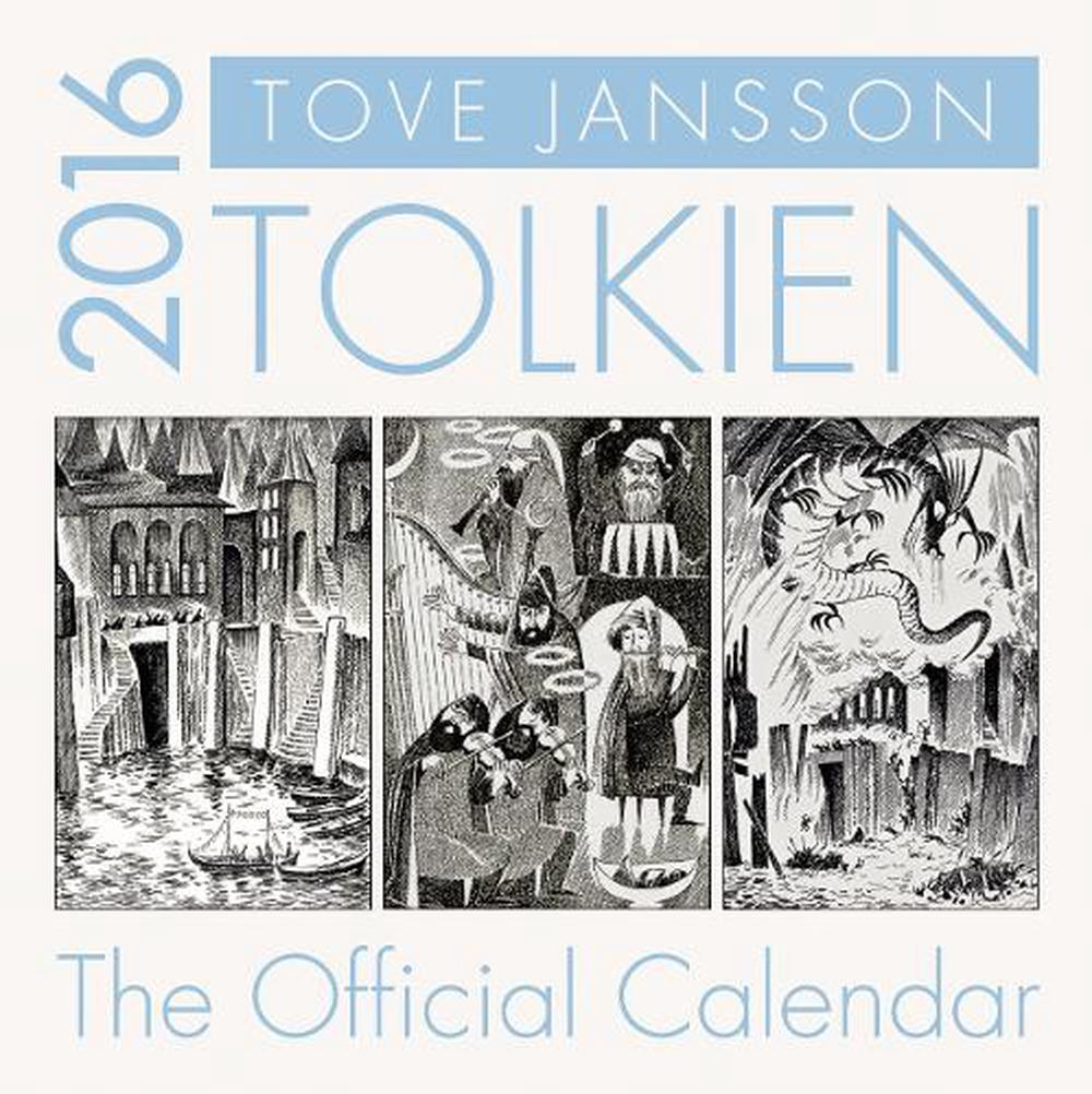 tolkien calendar 2016 by tove jansson 9780008124779 buy online at