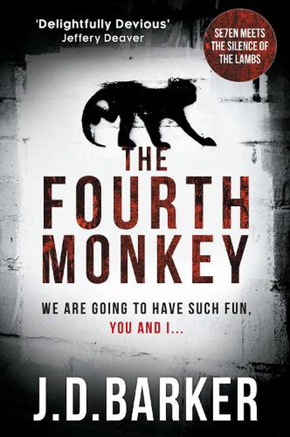 Image result for the fourth monkey book cover