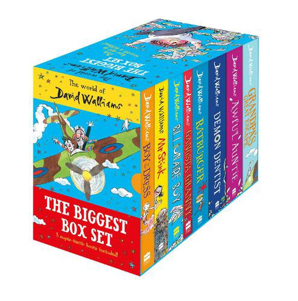 World of David Walliams: the Biggest 8 Book Box Set