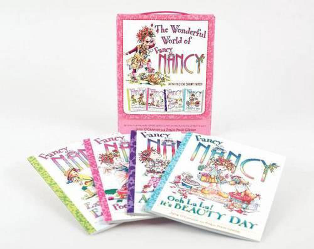 Fancy Nancy: The Wonderful World of Fancy Nancy Four-Book Extravaganza!