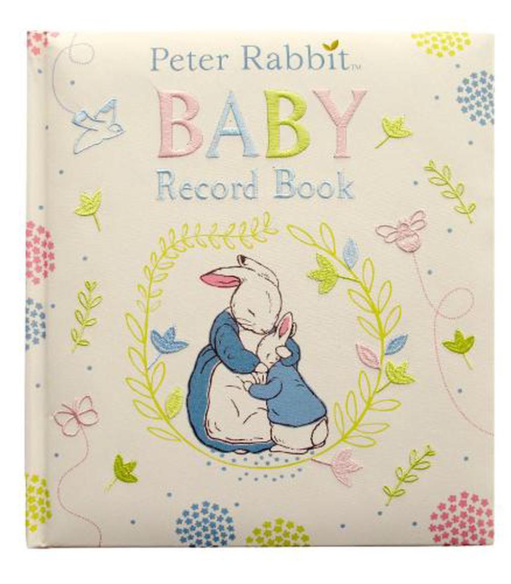 Peter Rabbit Baby Record Book