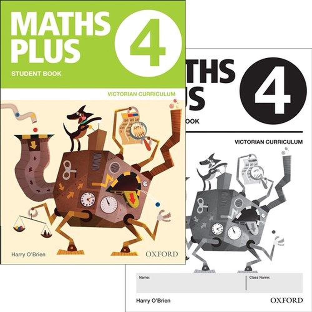 Maths Plus VIC Australian Curriculum Ed Student and Assessment Book 4 Value Pack
