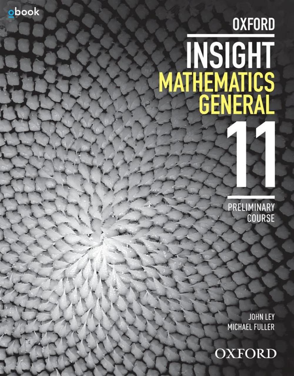 Oxford Insight Maths General Preliminary 2 Ed Student Book + Obook/assess