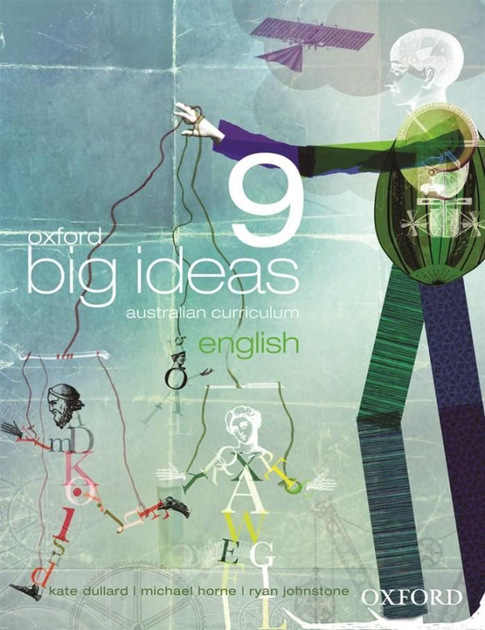 Oxford Big Ideas English 9 Australian Curriculum Student Book + obook