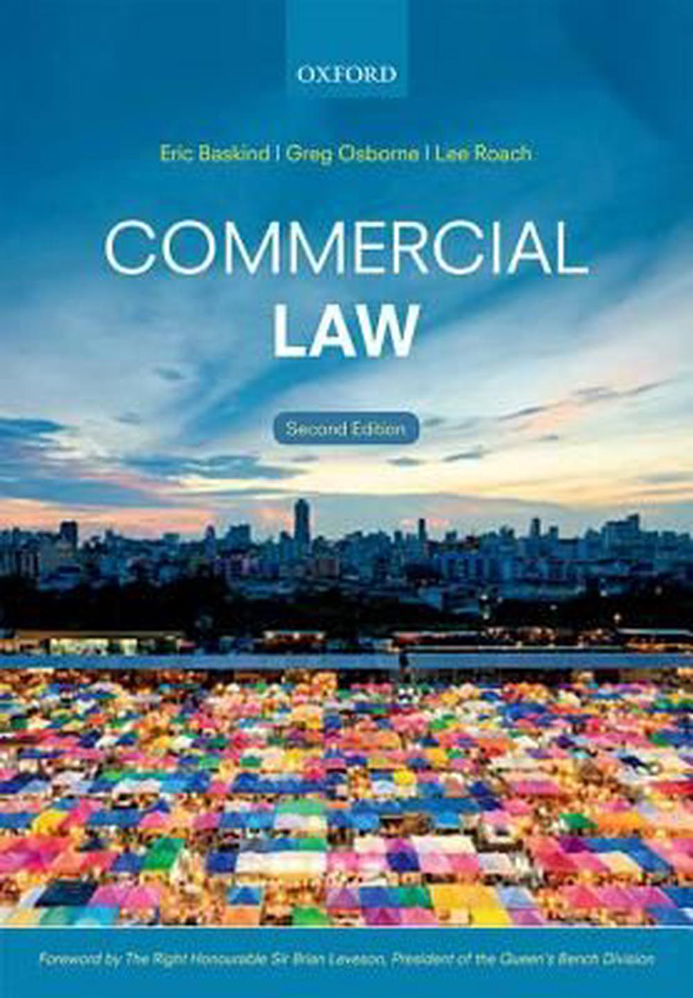 commercial law by eric baskind  paperback  9780198729358
