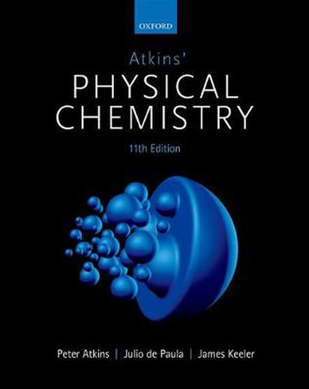 Atkins' Physical Chemistry, 11th Edition