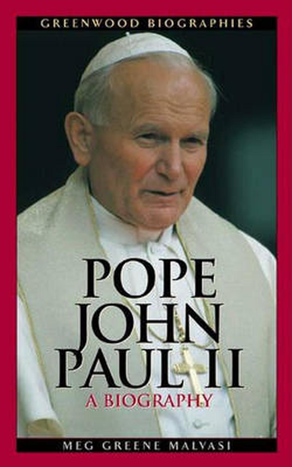 a brief biography of pope john paul Instead, enamoured of the mystical writings of saint john of the cross, he wished to join a closed order archbishop sapieha had no intention of seeing such potential locked away behind monastery walls, however, and but the brief appearance would be one of the last of pope john paul's lifetime.