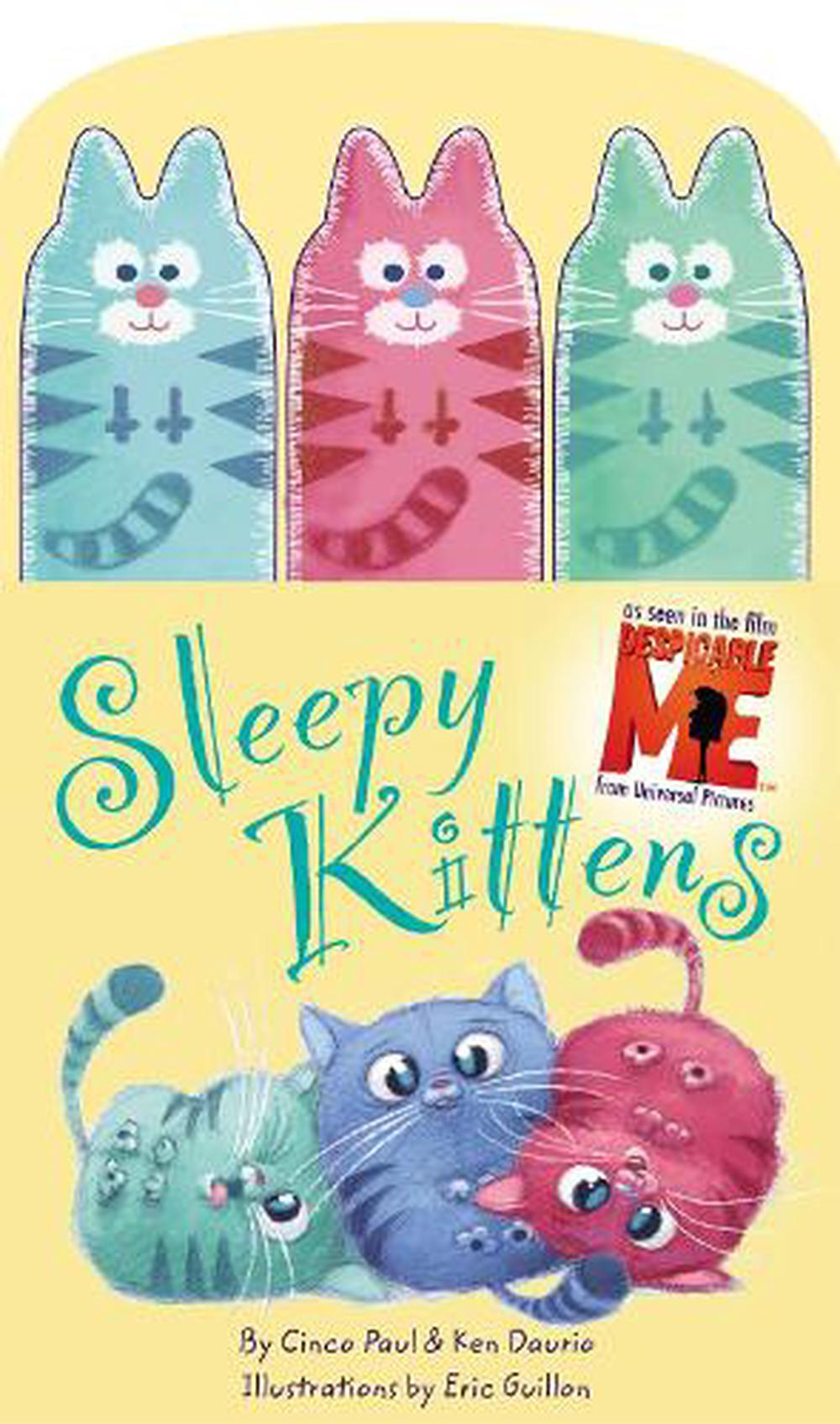 Sleepy Kittens with Finger Puppets [With 3 Finger Puppets]