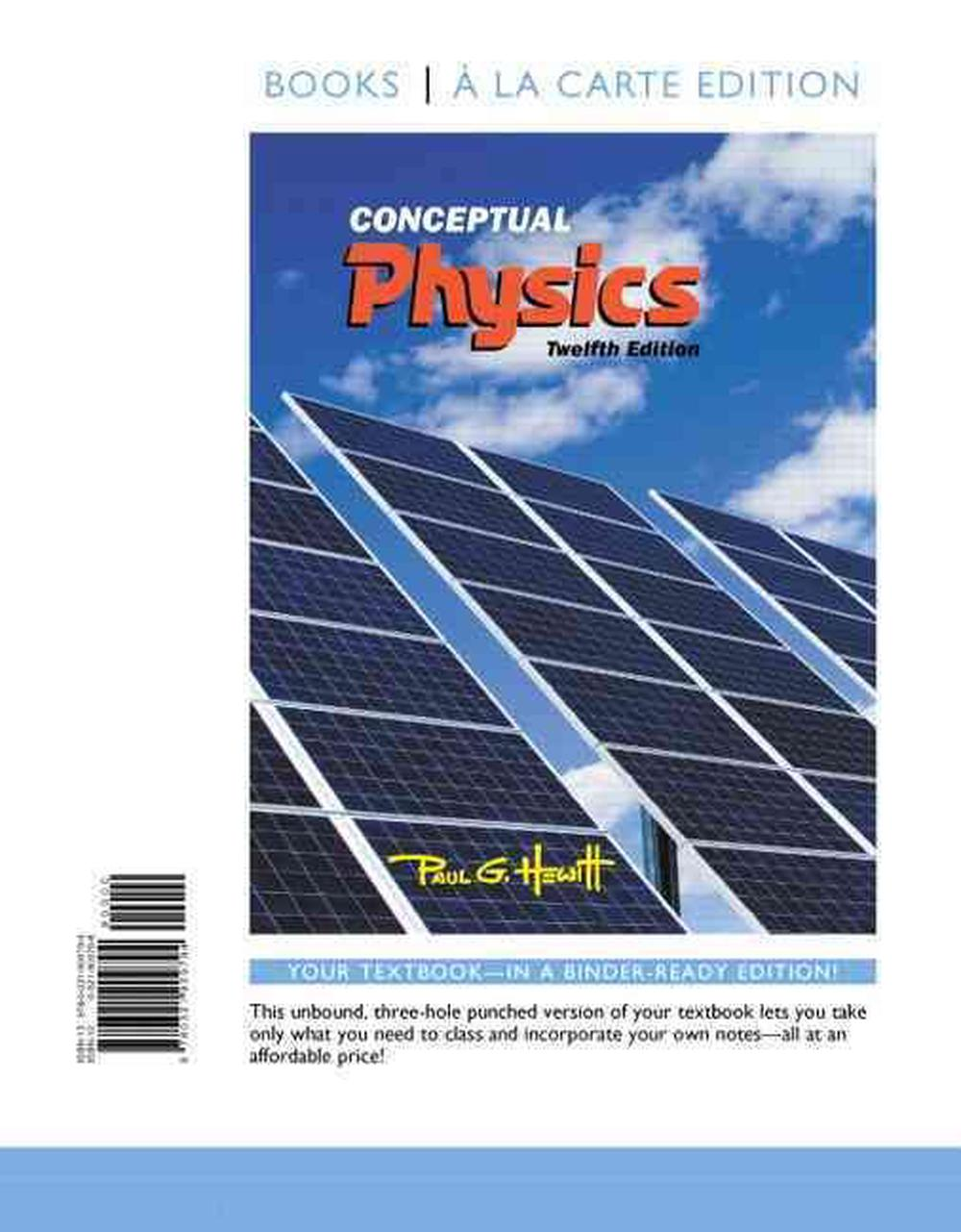 Conceptual Physics, Books a la Carte Edition by Paul G  Hewitt
