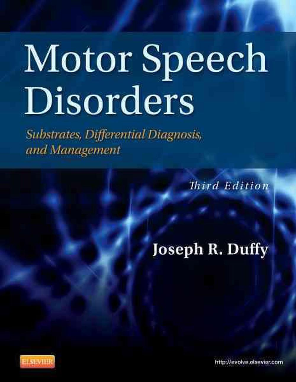 Motor speech disorders, 3rd edition by joseph r. Duffy, hardcover.
