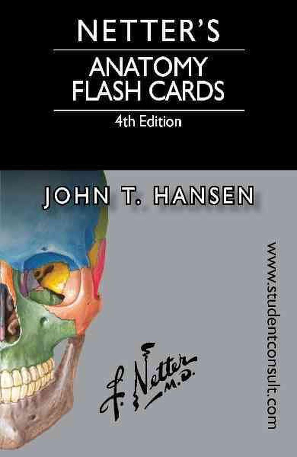 Netter\'s Anatomy Flash Cards, 4th Edition by John T. Hansen, Book ...