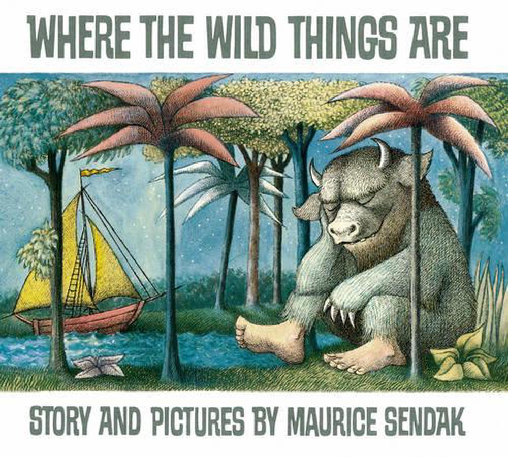 Where the Wild Things are by Maurice Sendak, Hardcover ...
