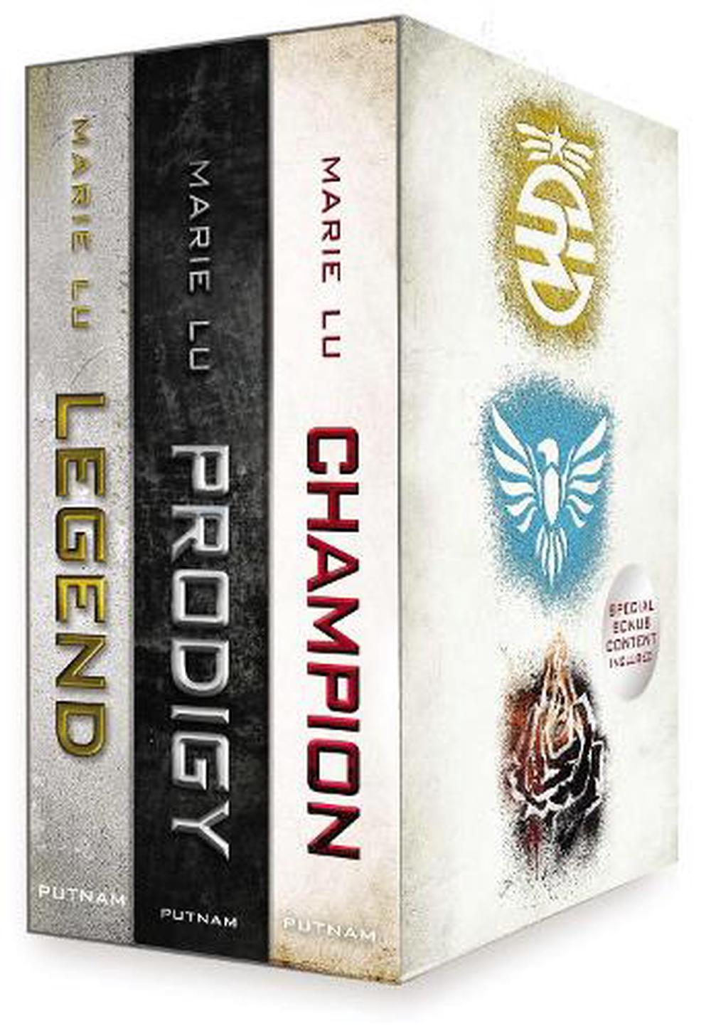 The Legend Trilogy Boxed Set: Legend/Prodigy/Champion [With Life Before Legend]