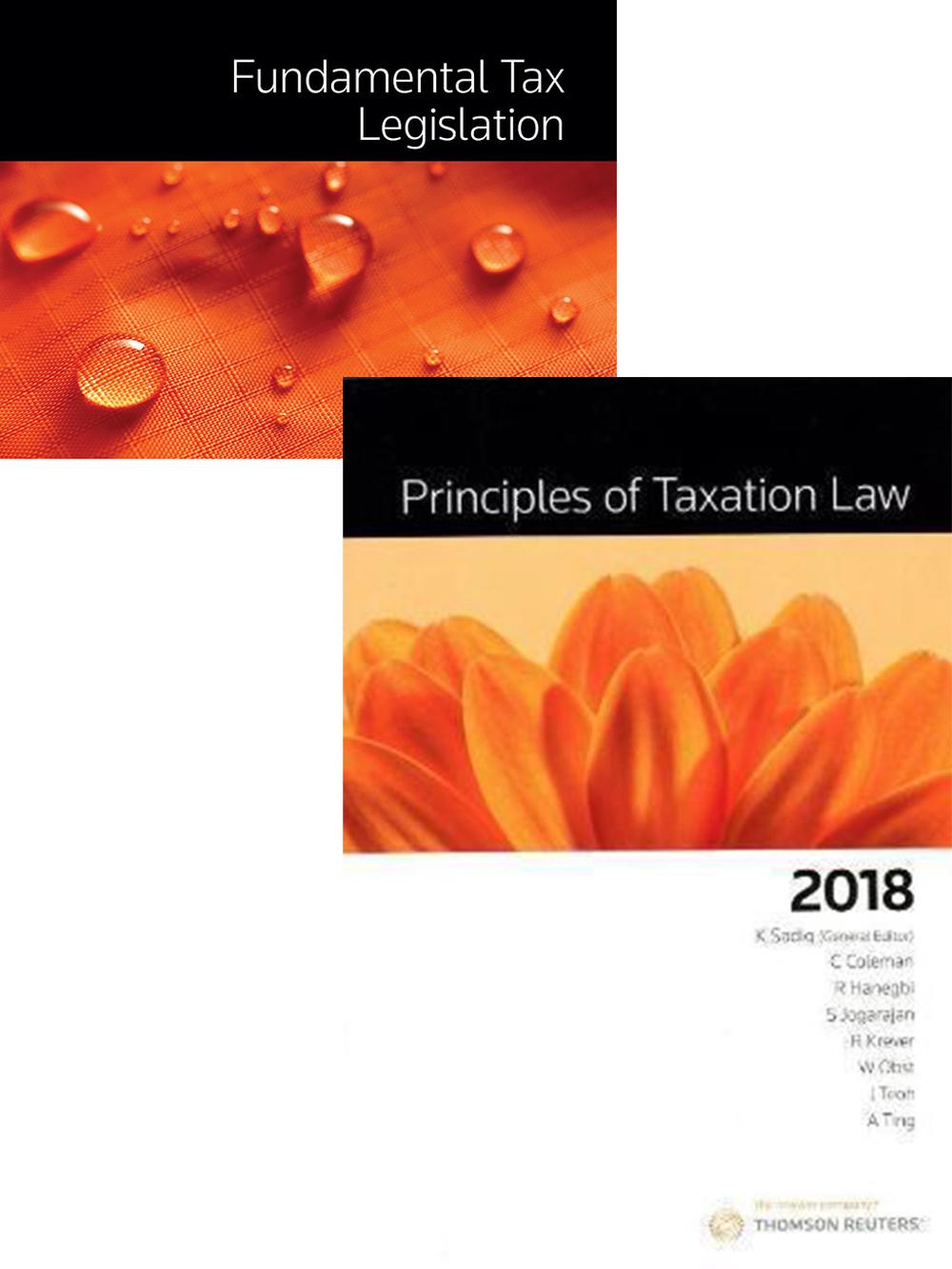 Principles of tax law and taxation 2