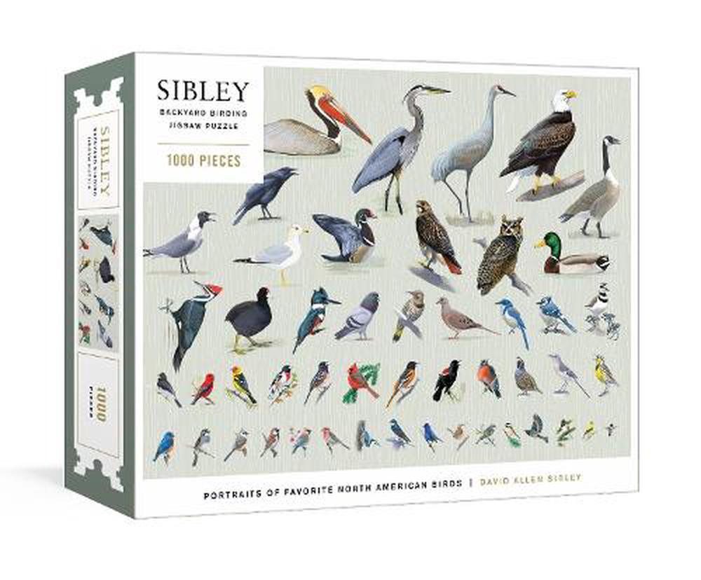 Sibley Backyard Birding Puzzle
