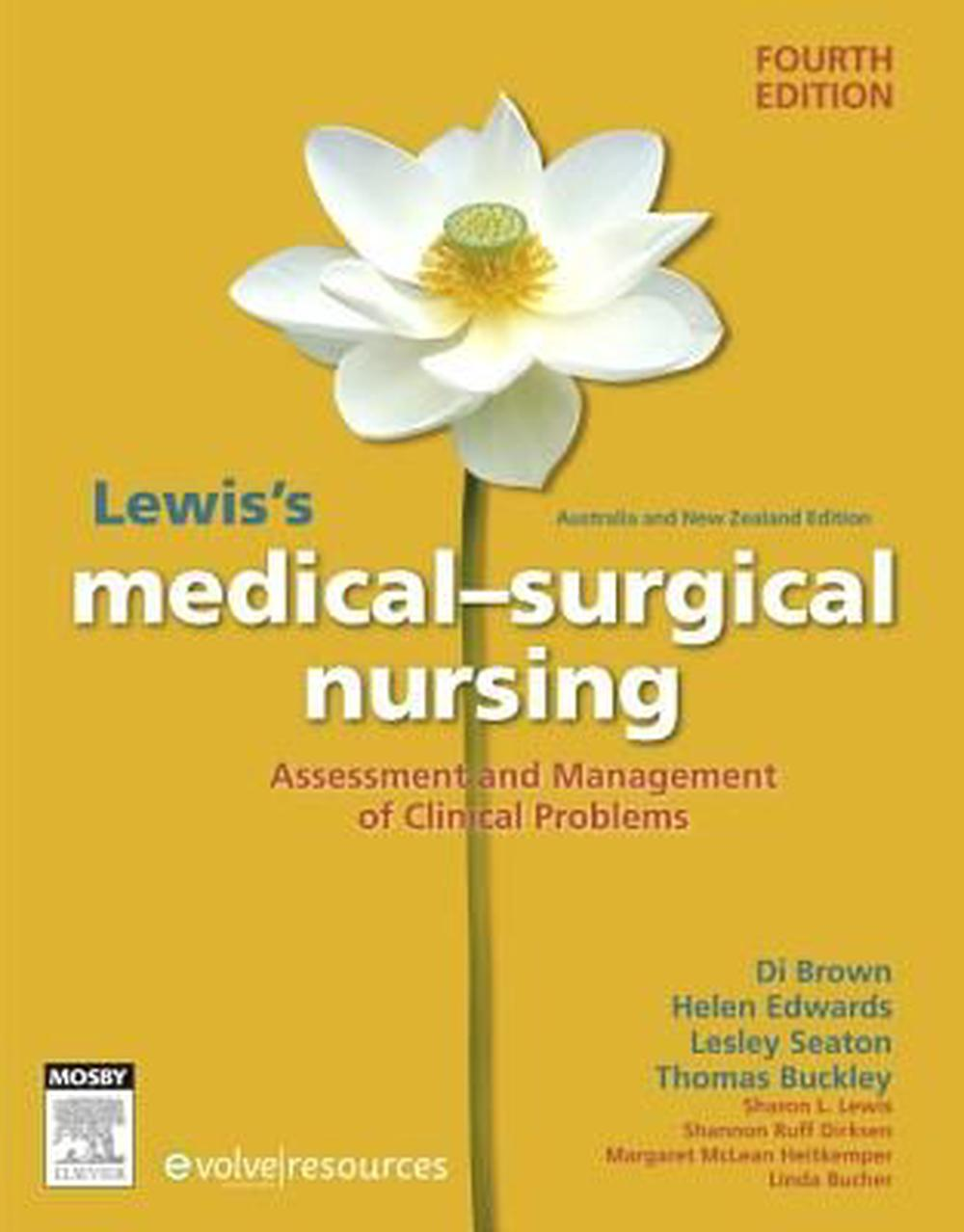 Lewis's Medical-Surgical Nursing ANZ, 4th Edition
