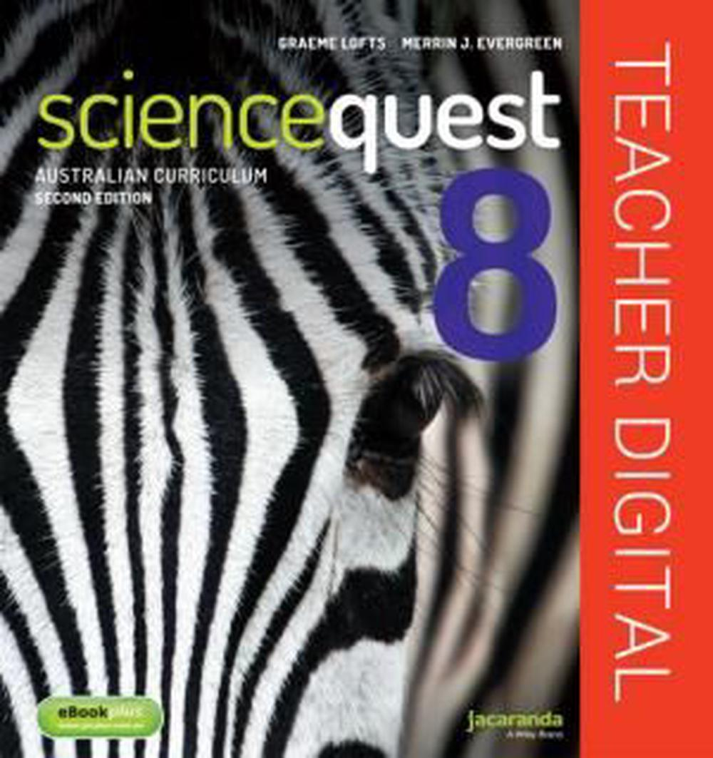 Science Quest 8 for the Australian Curriculum 2E Teacher Edition eGuidePLUS (Registration Card)