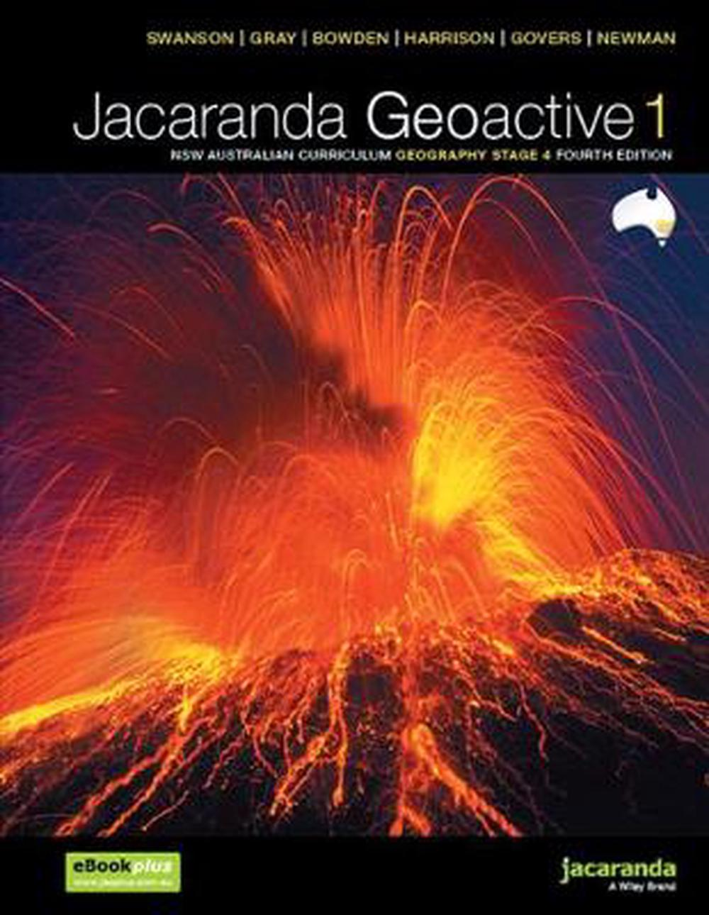 jacaranda geoactive 1 nsw australian curriculum geography stage 4 fourth edition ebookplus