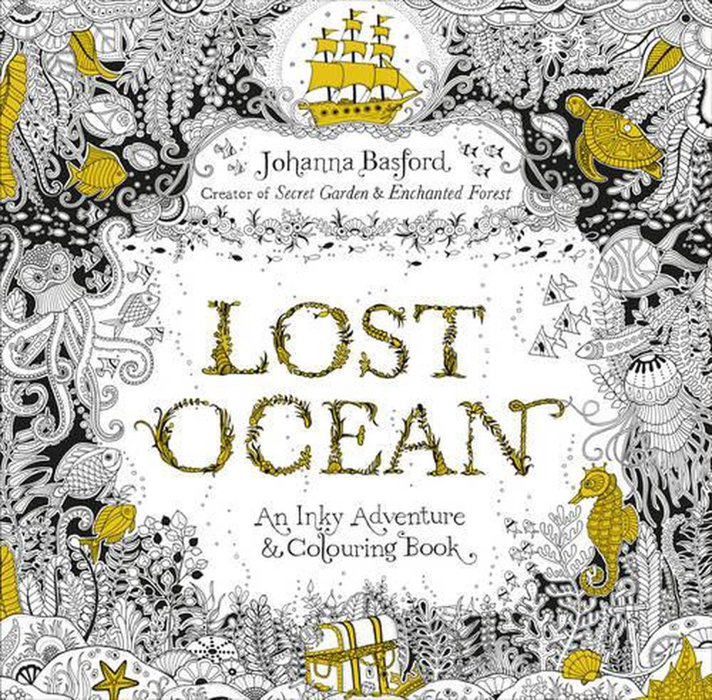 Lost Ocean By Johanna Basford Paperback 9780753557150