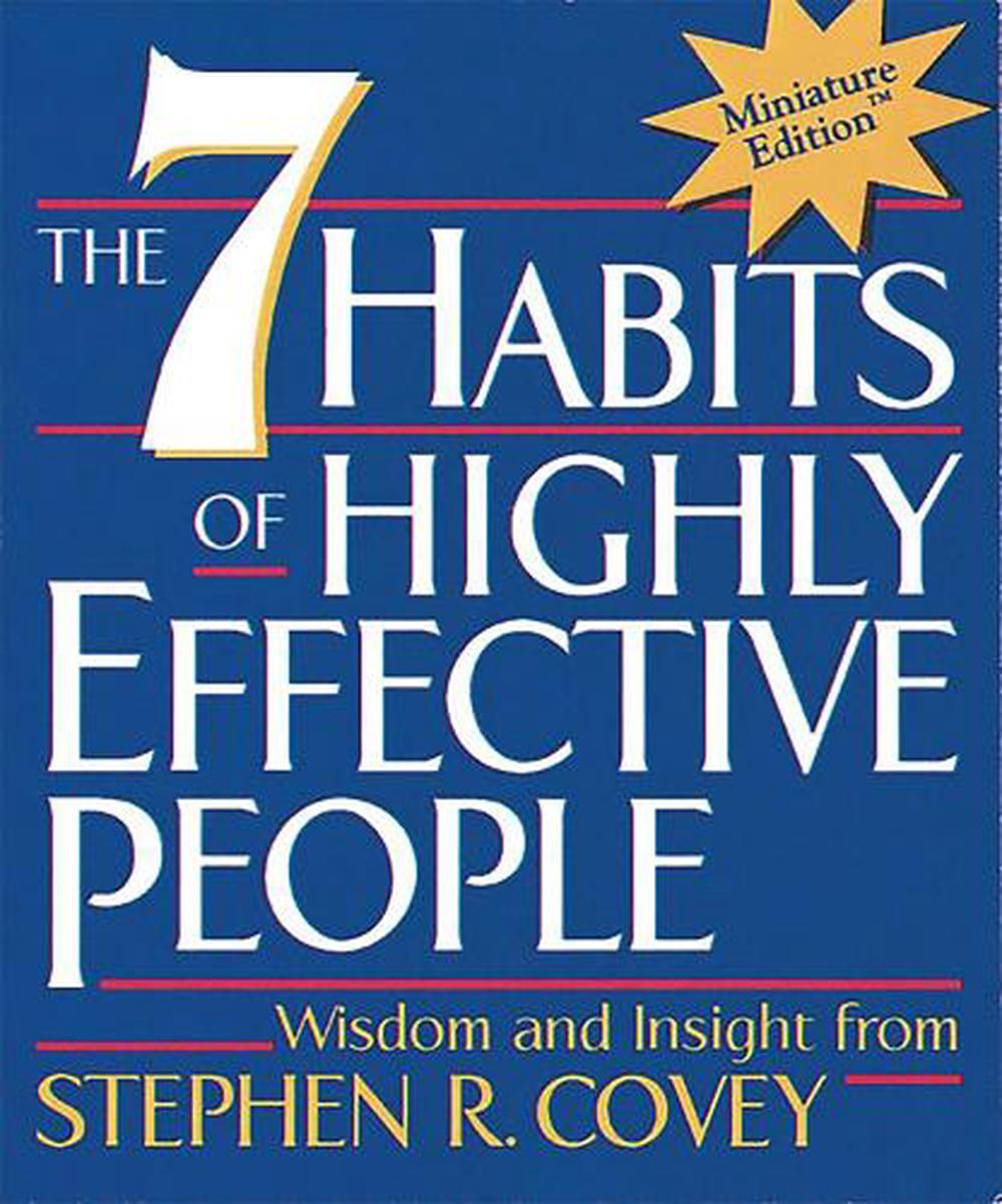 The 7 Habits of Highly Effective People - Mini edition